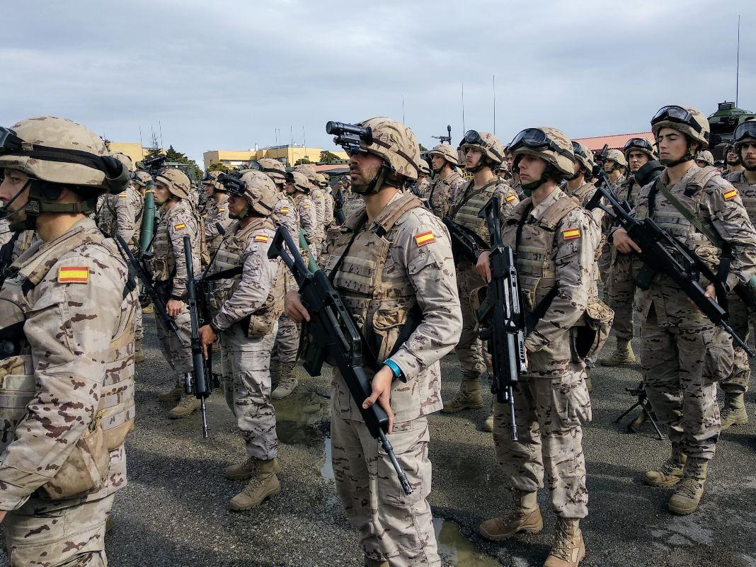 Malestar entre los militares con la subida salarial de los Presupuestos