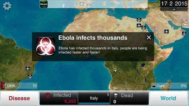 plague inc el juego que imita al ebola y al coronavirus