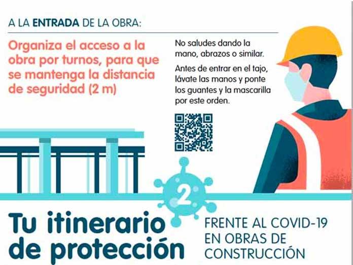 Medidas de seguridad en la construcción para evitar contagios por coronavirus