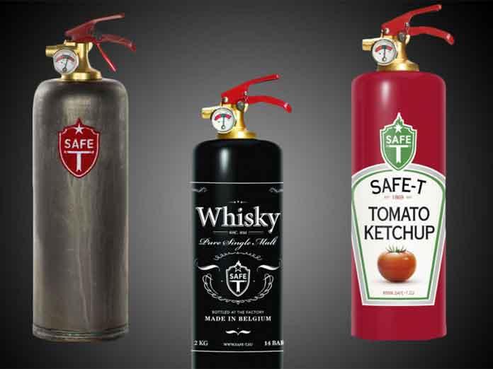 Regalos navideños: Los extintores más cool y decorativos del mundo: Safe-T