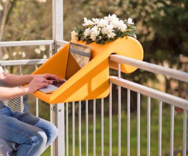 Balkoncept, para teletrabajar en la terraza en tiempos del confinamiento por coronavirus