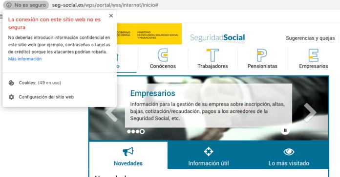 El SEPE alerta de una estafa de phishing que suplanta a la seguridad social
