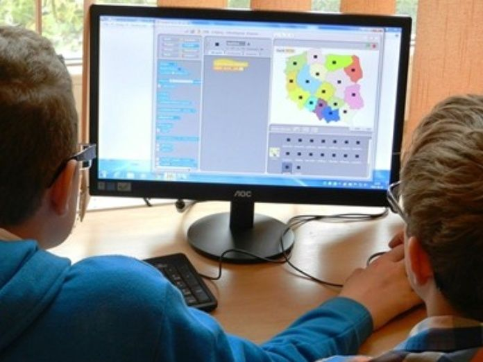niños ordenadores