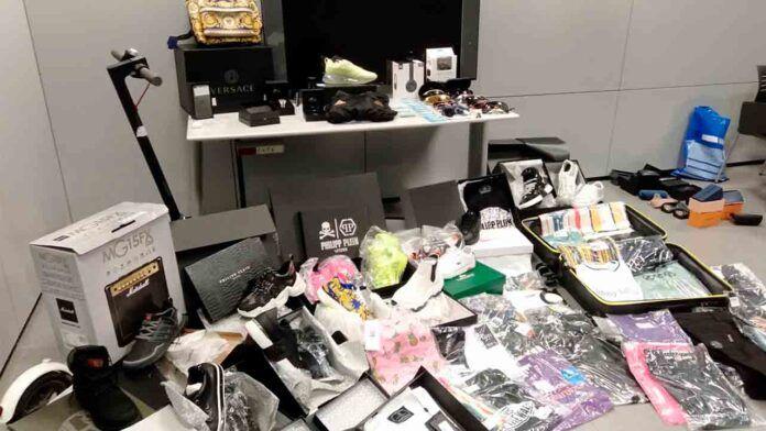 El material confiscado a los ciberdelincuentes