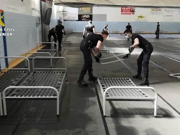 Guardia Civil actuaciones durante el confinamiento por Covid-19