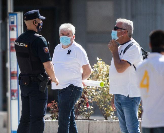 Baja la criminalidad en España con el Covid-19