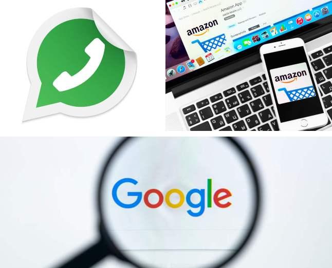 Amazon, Google y WhatsApp, las marcas más imitadas por los ciberatacantes que usan phishing