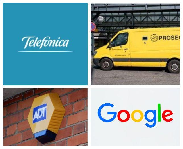 Las telecos invierten en seguridad analógica, Telefónica con Prosegur y ADT con Google