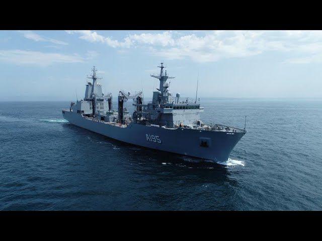 Concluyen con éxito las pruebas de mar de uno de los buques de guerra que Australia encargó a España