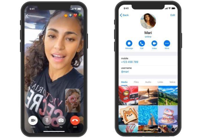Telegram incorpora la función de videollamadas encriptadas