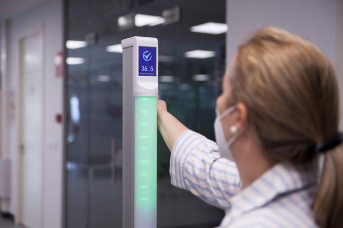 Un nuevo sistema de control de temperatura mide desde la muñeca y en un segundo