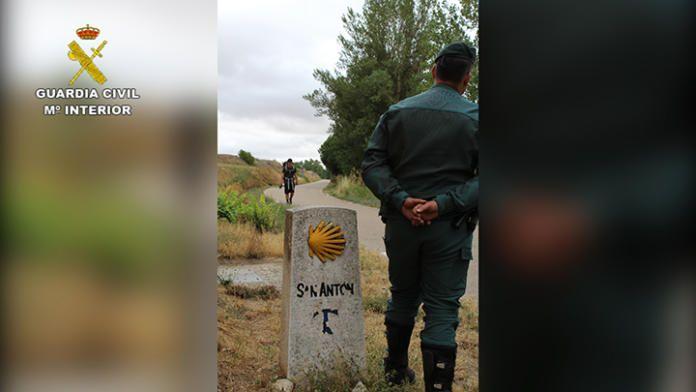 La Guardia Civil amplía su protección online de las Rutas Jacobeas
