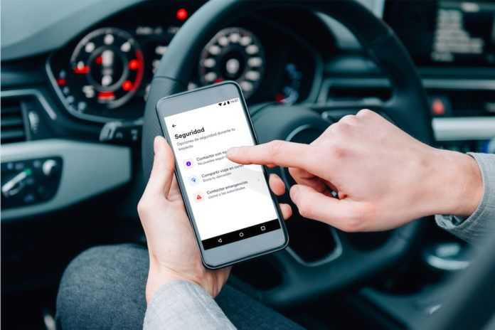 Cabify activa un botón de seguridad para proteger a sus conductores