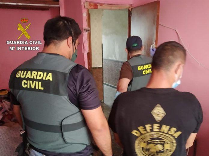 Guardia Civil ladrones de cobre