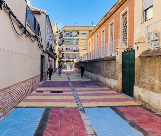 Ayuntamiento de Valencia, colegios zonas peatonales