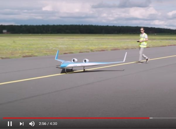 El vídeo del primer vuelo de prueba del avión futurista Flying-V