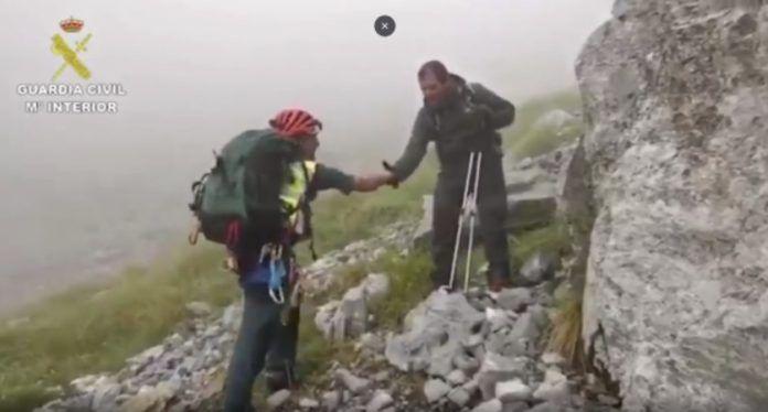 Impresionante vídeo: así trabaja la Guardia Civil de Montaña