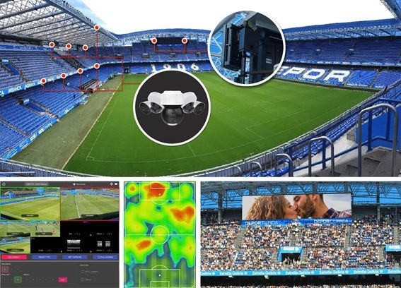El Deportivo de A Coruña jugará en el estadio con el mayor despliegue de cobertura y casos de uso 5G
