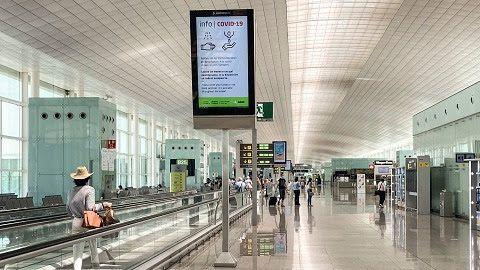 Aeropuerto Josep Tarradellas Barcelona - El Prat (Foto Telefónica)