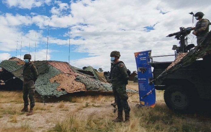 900 militares participan desde este lunes en la activación operativa 'Eagle Eye 20-03'