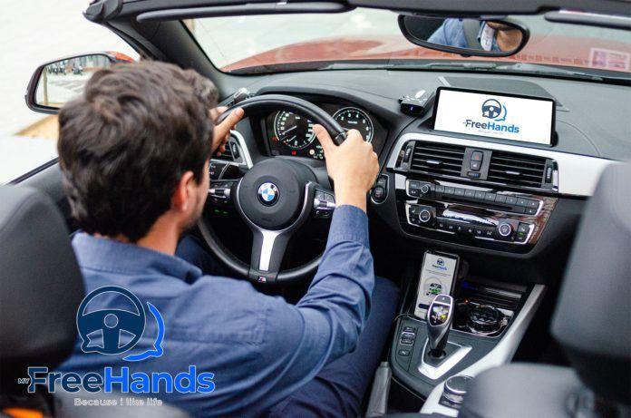 Una app española permite enviar mensajes de WhatsApp sin soltar las manos del volante