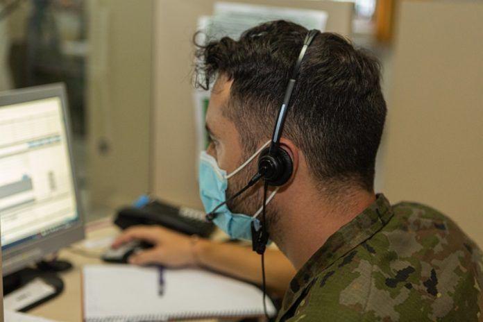 El Ejército de Tierra integra 1.100 efectivos en los equipos de rastreo de las CCAA