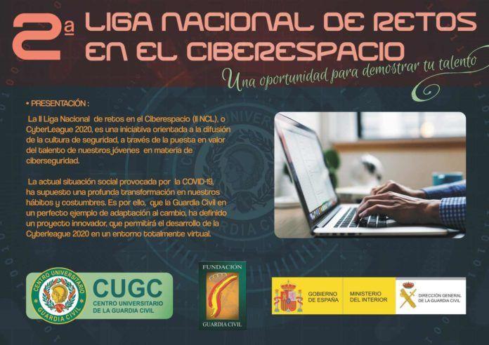 La Directora de la Guardia Civil presenta la II Liga Nacional de retos en el Ciberespacio
