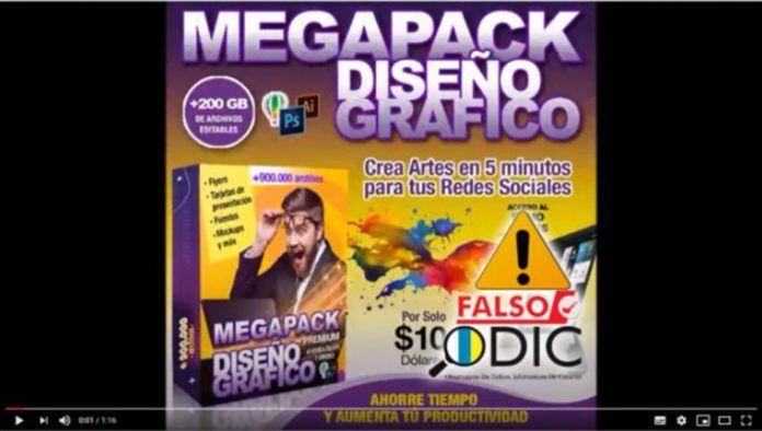 Mega Pack no es un chollo para diseñadores gráficos, es una estafa