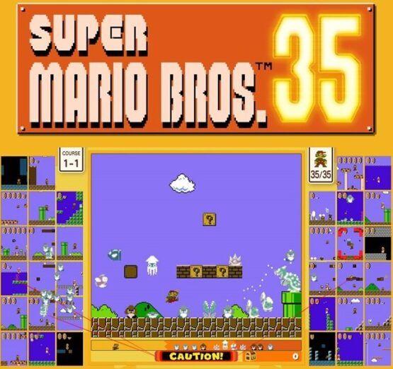 Unos hackers consiguen piratear Super Mario Bros.35 solo dos días después de su lanzamiento