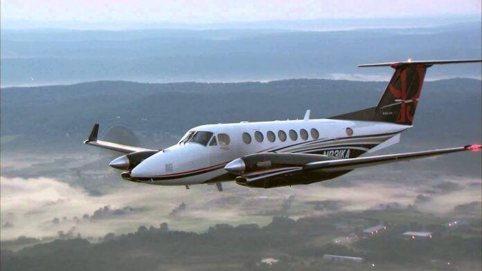 El Servicio Aéreo de la Guardia Civil refuerza su flota con el nuevo avión Super King Air