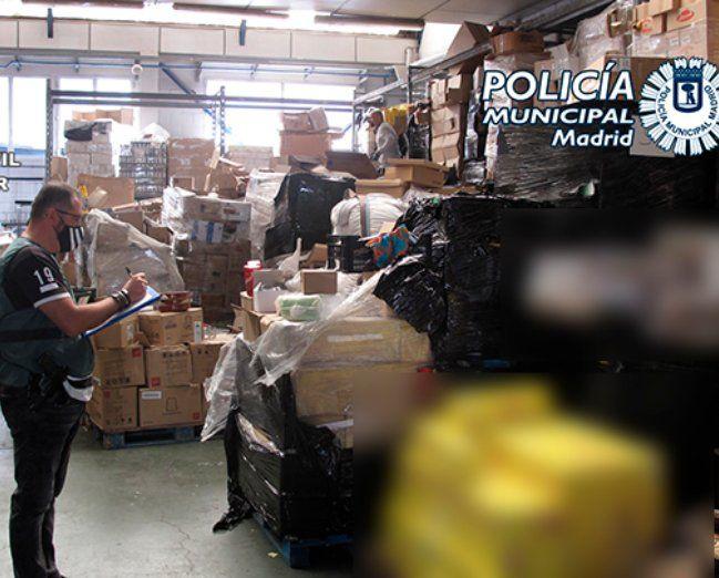 OpOperación Capaga: 3.500 kilos de langostinos robados interceptados y destruídos antes de ser vendidos en Mercamadrid.