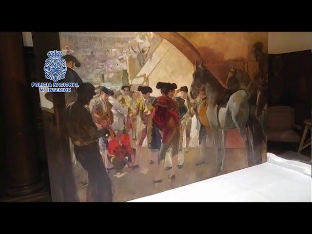 La Policía recupera un cuadro de Sorolla valorado en tres millones de euros