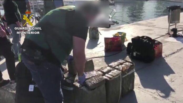 Desactivada una red internacional de tráfico de drogas que actuaba en las costas de Andalucía