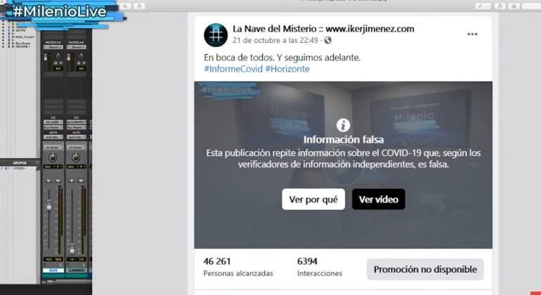 Covid-19: Iker Jiménez estalla contra Ana Pastor, la mujer de Ferreras, la verificadora de bulos