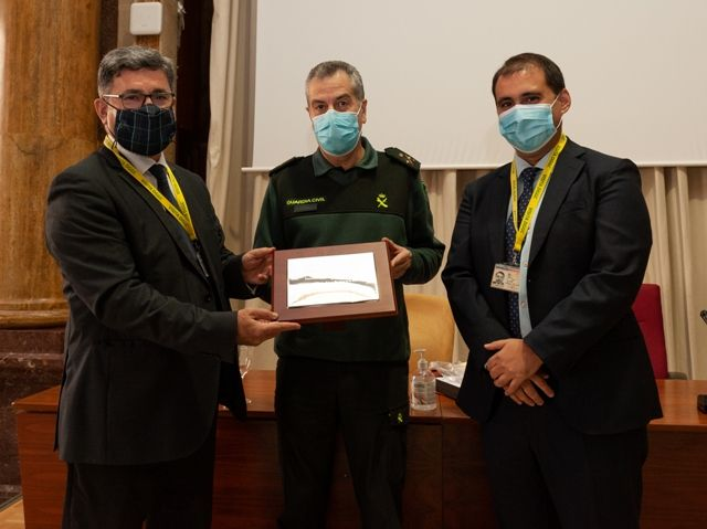 Clausura del Programa Teórico Avanzado de RPAs (drones) impartido por la Universidad de Salamanca a cerca de 200 efectivos de la Guardia Civil.