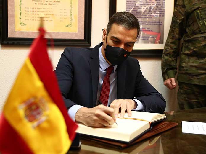 Pedro Sánchez aplicará la censura