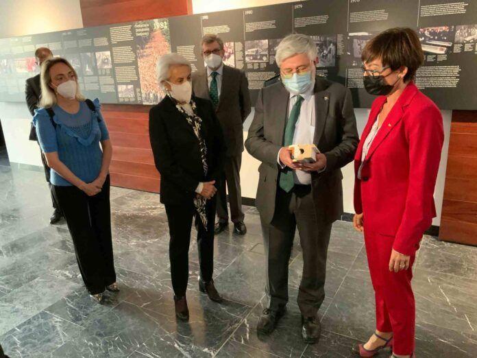 El Memorial de las Víctimas del Terrorismo exhibirá un símbolo del cautiverio de Publio Cordón