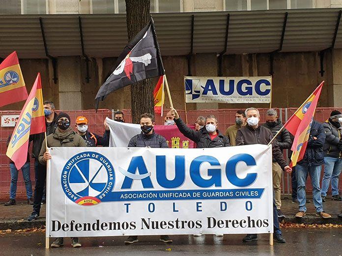 Concentración de Guardias Civiles el própximo día 6 de diciembre en las delegaciones de Gobierno de toda España