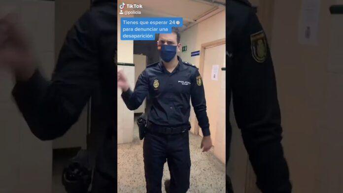 TikTok concede a la Policía Nacional la verificación de su cuenta oficial en su red social