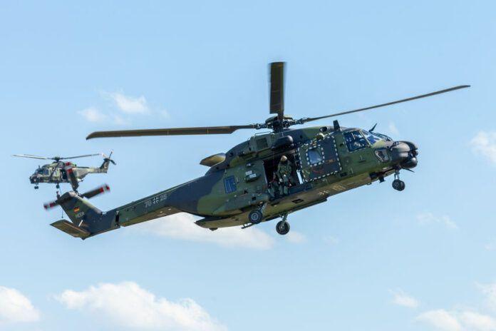 Indra dotará 23 helicópteros NH90 españoles con los más avanzados sistemas de defensa electrónica
