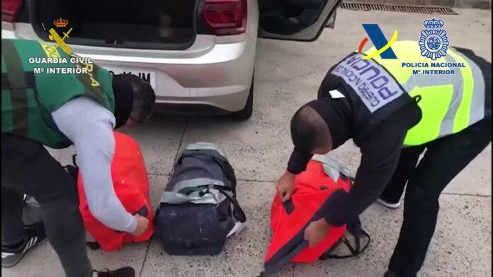 Guardia Civil y Policía Nacional se incautan 268 kilos de cocaína en Lanzarote