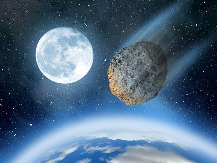 Un asteroide puede chocar contra la tierra en el 2023, se llama 2009 JF1