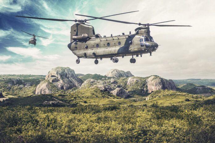 Indra modernizará el sistema de simulación del helicóptero Chinook CH-47F