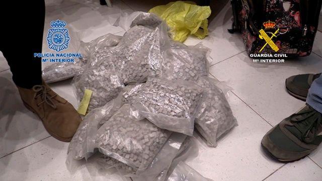 La mayor operación contra el narcotráfico de drogas sintéticas en España