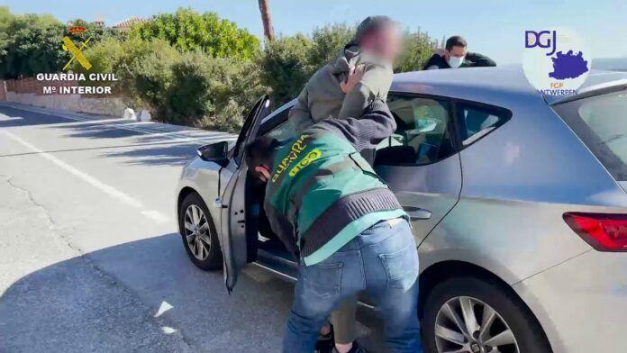 La Guardia Civil detiene en Granada a uno de los mayores narcotraficantes de Bélgica