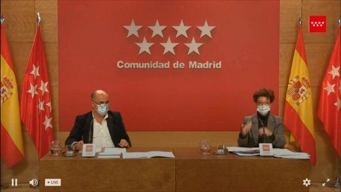 Sigue en directo la rueda de prensa: Madrid adelanta el toque de queda