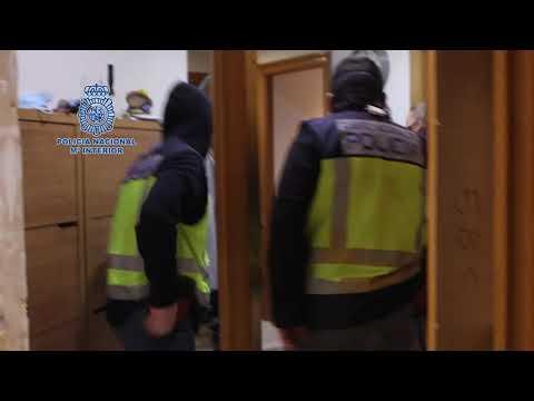 Siete detenidos por extorsionar a ciudadanos rusos en Madrid y Málaga