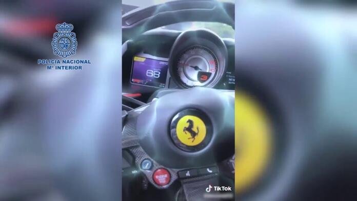 Detenido en Madrid por triplicar el límite de velocidad en deportivos y publicar los videos en redes sociales