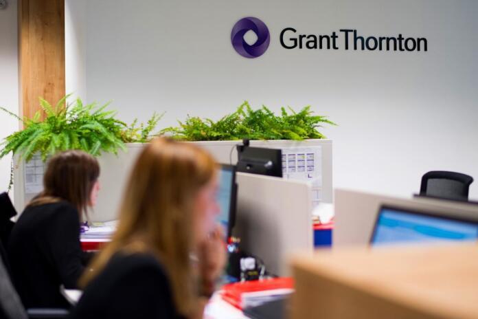 Oficina de Grant Thornton en una imagen publicada en el Facebook de la compañía