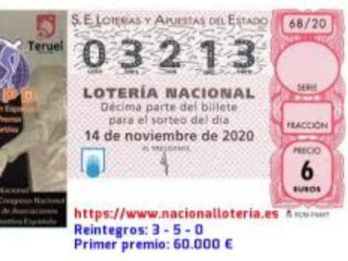 Se busca al dueño de un boleto premiado de la lotería encontrado en una papelera